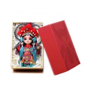 Peking facial makeup doll