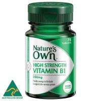 Собственный витамин B1 250 мг 75 таблетки для природы