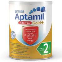 Aptamil Gold + 2 Аллерпро последующие формулы 6-12 месяцев 900g