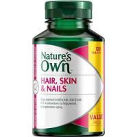 Природа собственные волосы кожи & ногти 120 таблетки эксклюзивный пакет