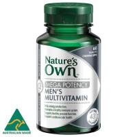 Природные собственные Мужские поливитамины мега потенции 60 таблетки