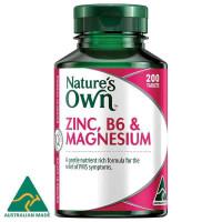 Природа собственного цинка B6 & магний 200 таблетки