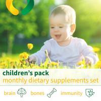 Детский пакет - ежемесячный набор БАДов