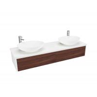 Шкаф ванной комнаты (1500 порт-WH-E)